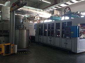 ООО «Первая картонажная фабрика». Поставка линии для производства бугорчатой тары TPM-1500TPN (TPM, Тайвань)