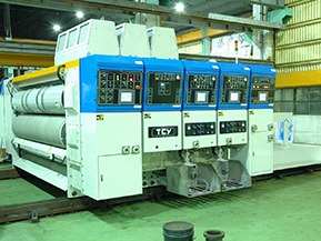 ООО «Картон-Плюс». Поставка линии по производству гофрированной тары, модели 9PA-FG откомпании «TCY» (Тайвань)