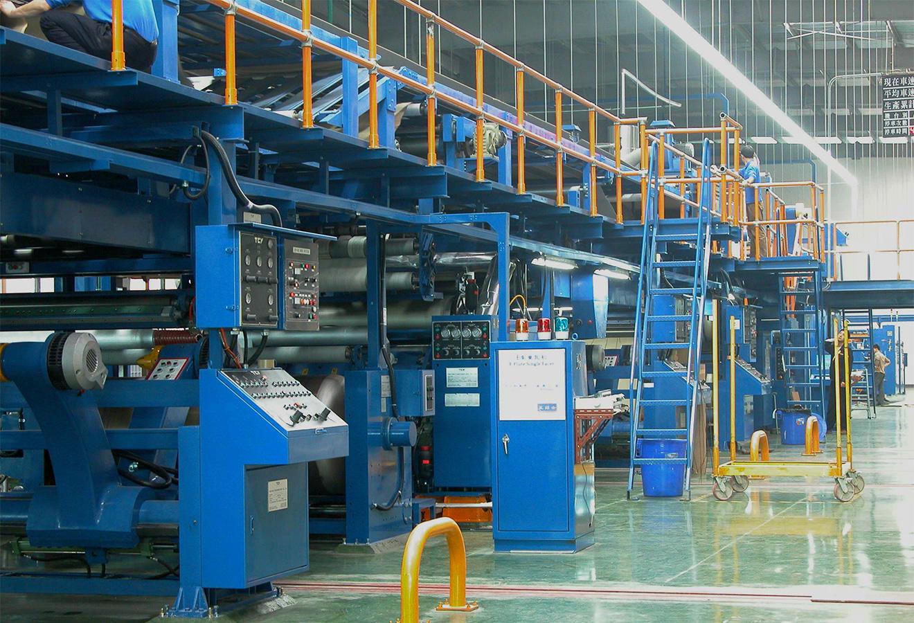 Высокоскоростная линия для производства гофрокартона TCY