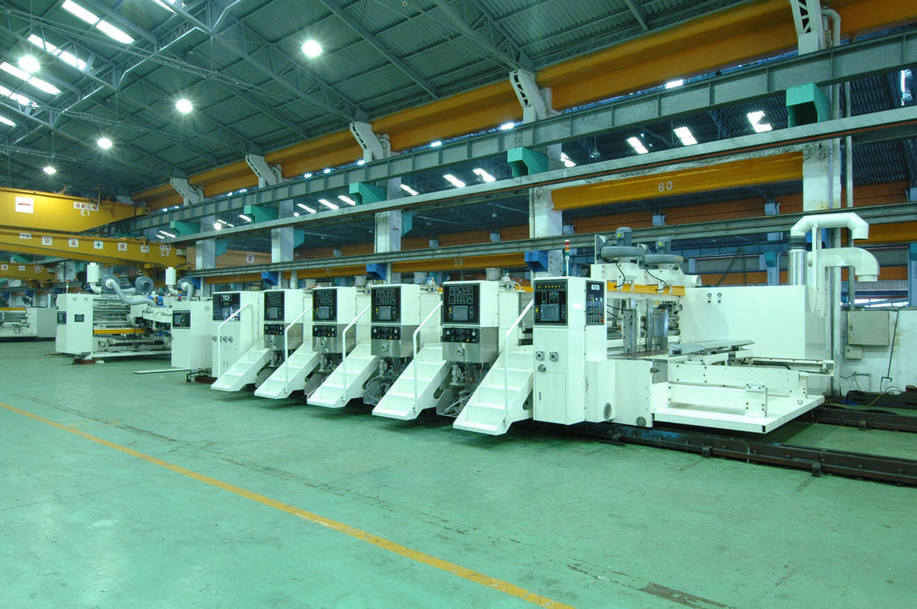 Автоматическая высокоскоростная поточная линия для производства гофротары Midline 5PA-FG