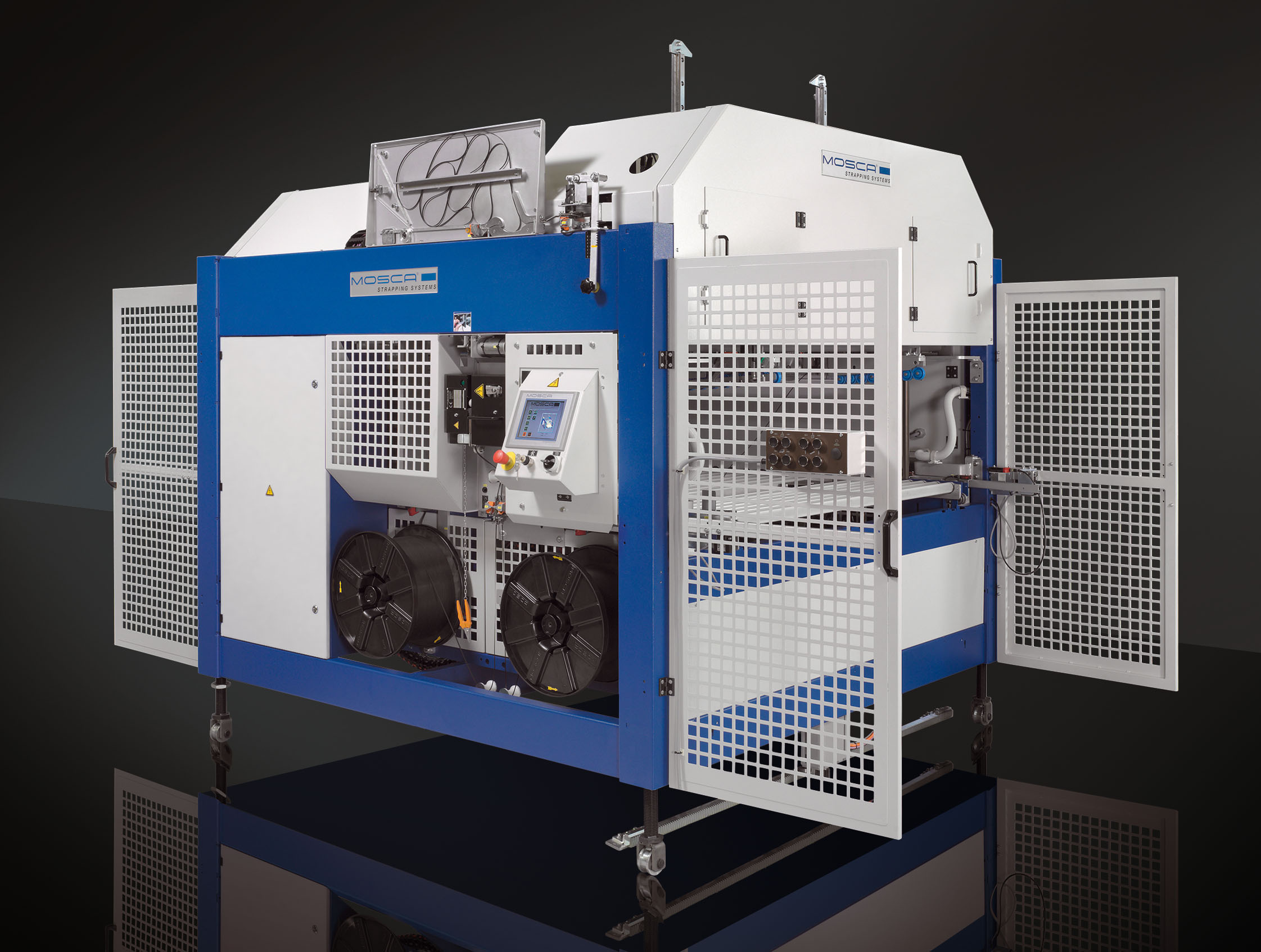 Машина для автоматического выравнивания и обвязки стопок UATRI-2 XT