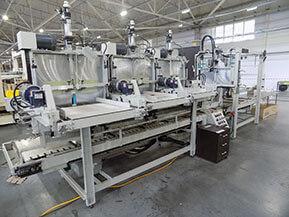 ООО «Кубанская картонажная фабрика». Поставка автоматической линия по сборке решеток, модель 91CF («PPCM», США)