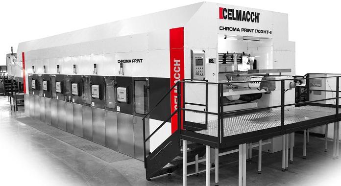 Поставка высокоскоростной инлайн линии для работы с плоским прессом (Celmacch) на АО «Илим Гофра»