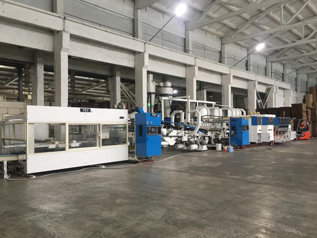 Поставка оборудования TCY 6PAB-UFGT, MOSCA MCB-2 на предприятии ООО «Марийская картонажная мануфактура»