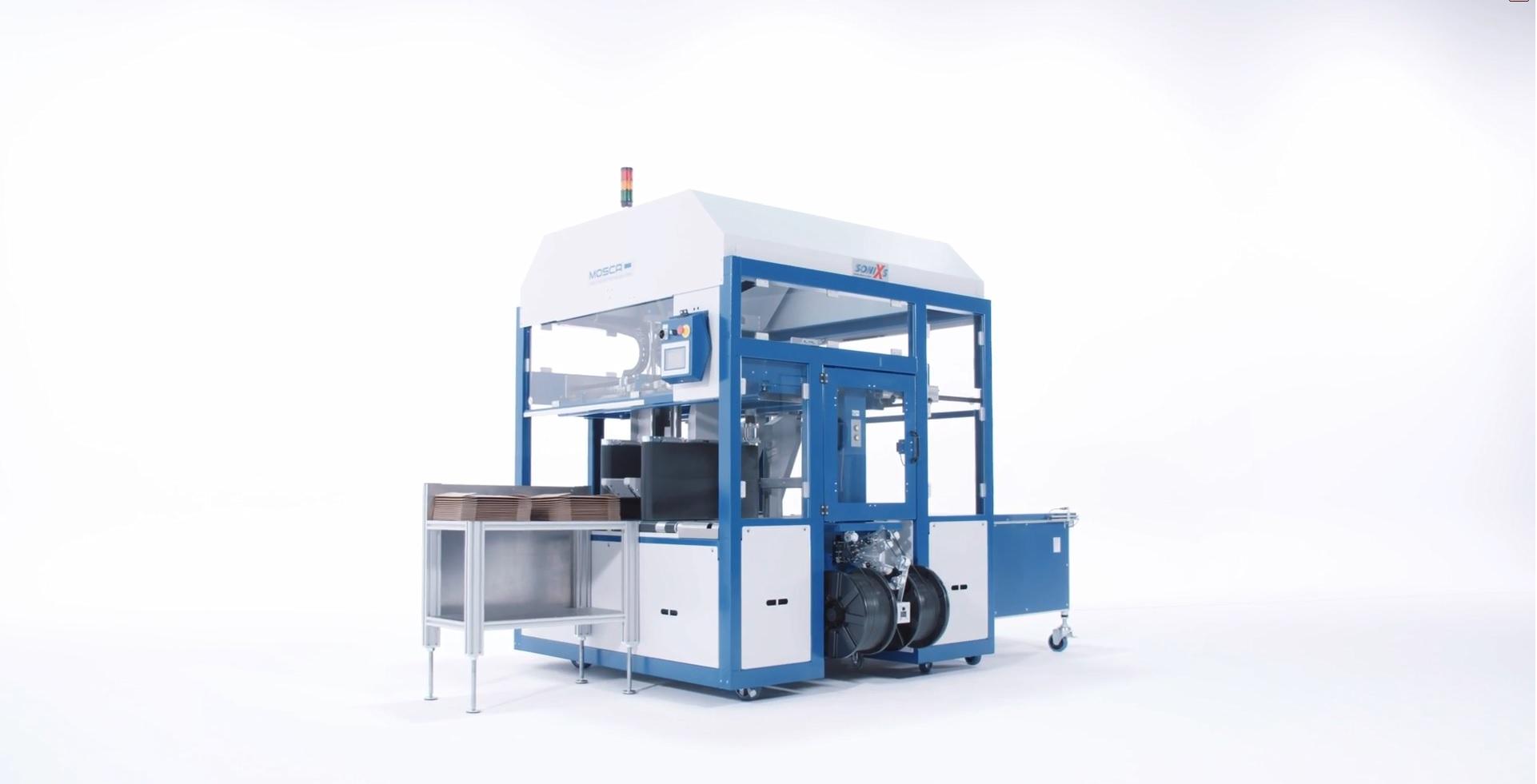 Поставка автоматической обвязывающей машины SONIXS UCB 1250 на производство Киевского КБК