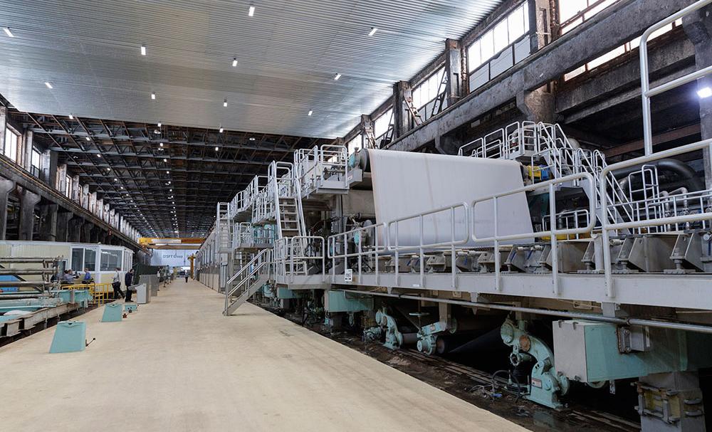 На новом гофрозаводе «Алексинской БКФ» запустили Fosber S/Line 370